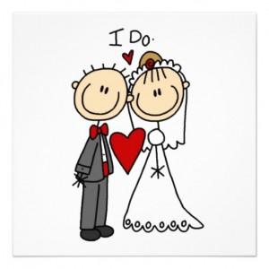 Wedding Couple 'I do'